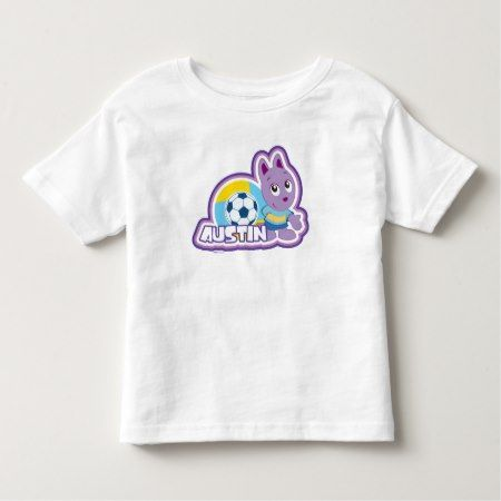The Backyardigans | Austin Playing Soccer Toddler T-shirt - click/tap to personalize and buy