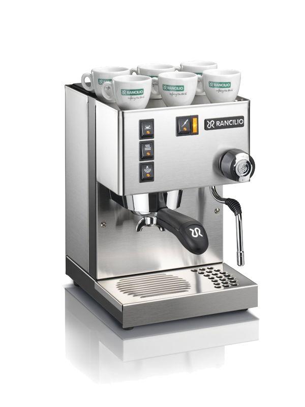 Die Rancilio Silvia Siebträgermaschine für Espresso im Test 2015. Unsere Erfahrung mit dieser hochwertigen Kaffeemaschine und wo man sie günstig kaufen kann