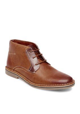 Madden Men's Herrin Chukka Boots - Tan Leather - 11.5M