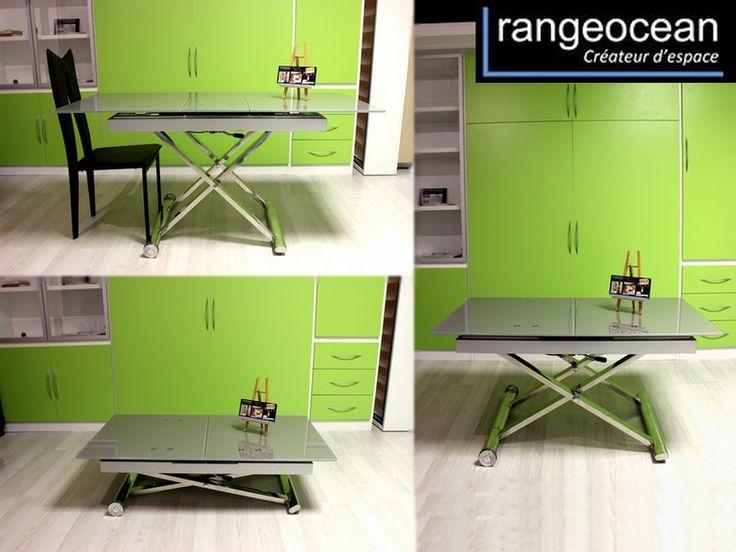 1000 id es sur le th me table escamotable sur pinterest table modulable mobilier peu. Black Bedroom Furniture Sets. Home Design Ideas