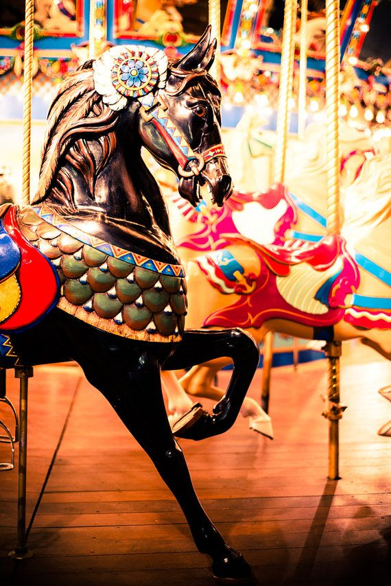 Carousel Photo Carousel Horse by Squint Photography #carnivals #horses #photography