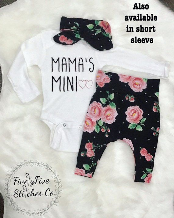 Baby Girl Going Home OutfitBaby Girl Coming Home O #Baby #ClothesNewborn #COMING …   – Kinder Ideen