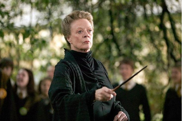 """During the years of 2007-2011, Dame Maggie Smith (Professor McGonnagall) continued to film the final Harry Potter movies, all while battling breast cancer. During the filming of Harry Potter and the Half-Blood Prince, Smith had shingles and was forced to wear a wig in order to continue filming. On the subject, Smith said, """"If there's work to do I'll do it. I've still got to stagger through the last Harry Potter. The cancer was hideous. It takes the wind out of your sails and I don't know what the future holds, if anything. You feel so ghastly, you wouldn't mind dying a lot of the time. The last couple of years have been a write-off, though I'm beginning to feel like a person now. My energy is coming back. Shit happens. I ought to pull myself together a bit."""" If anything, she's a truly incredible and inspiring woman, and should be admired greatly.  (and a TRUE Gryffindor): Maggie Smith, Dame Maggie, Harrypotter, Maggiesmith, Movie, Harry Potter, Professor Minerva"""