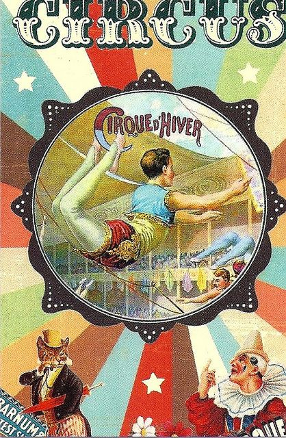 Vintage Circus Poster. Acrobat. | Flickr - Photo Sharing!