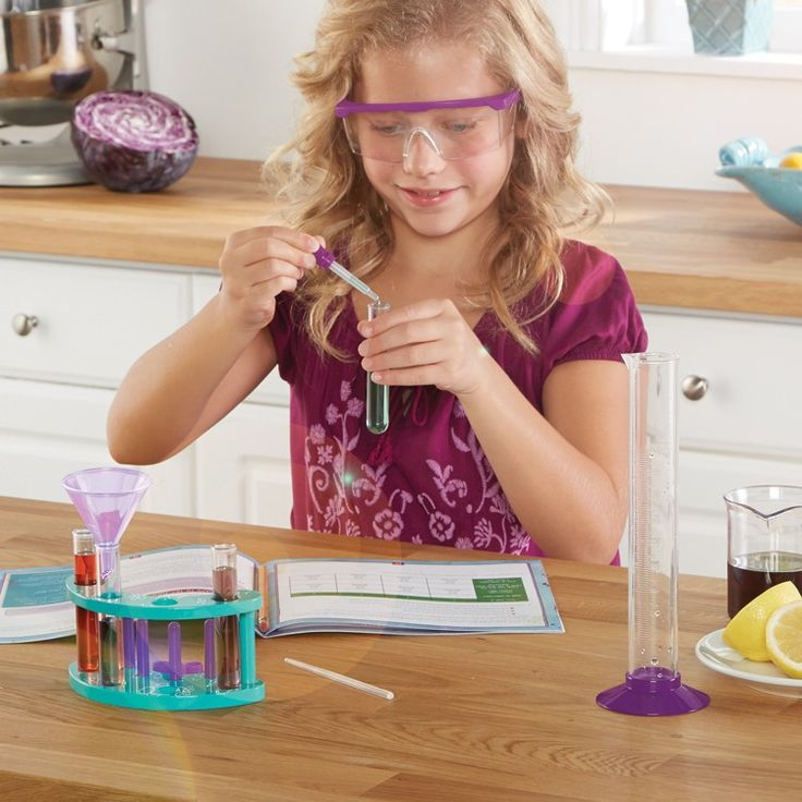 Nancy B's Science Club Stir It Up Chemistry Lab brings a great collection of chemistry tools to experiment and learn in your own kitchen.