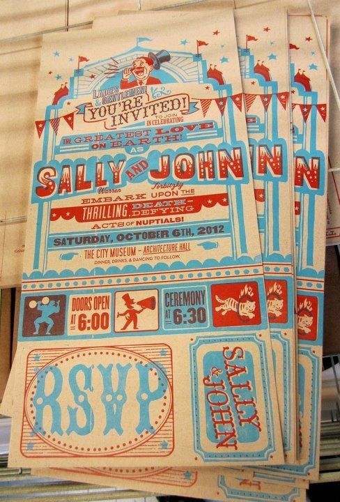 Wedding invitations printed by Firecracker Press in STL