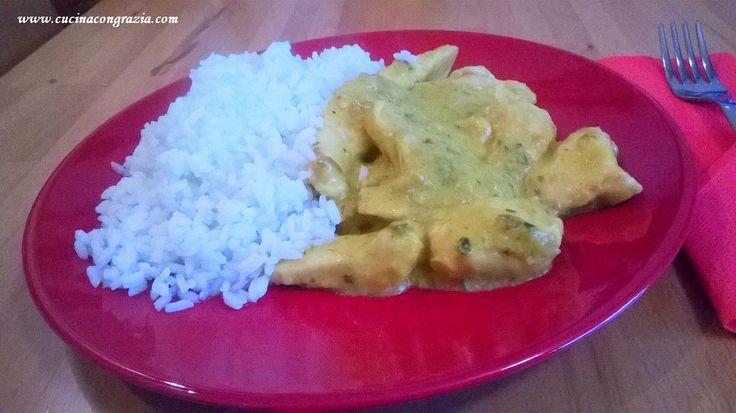 Pollo al curry http://www.cucinacongrazia.com/2016/01/secondi/pollo-al-curry/   Cucina con Grazia