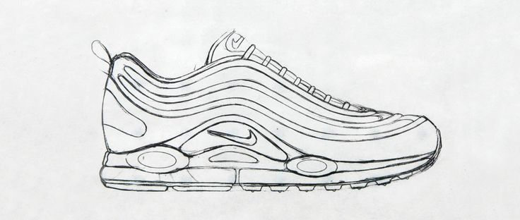 Sneaker Sketch Of The Week // Christian Tresser's Nike Air Max 97