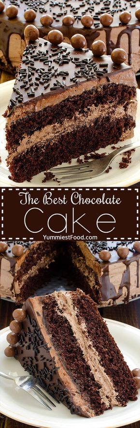 best chocolate wedding cake recipes the best chocolate cake recipe chocolate 11293