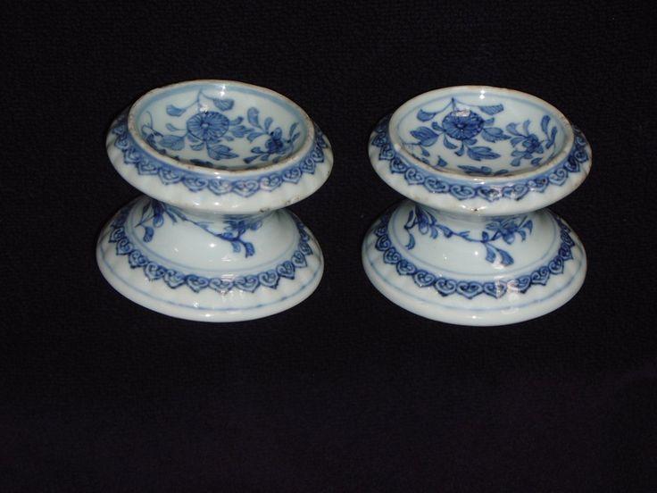 Paire de saleron en porcelaine de Chine, époque Kangxi ==> https://www.anticstore.com/paire-saleron-porcelaine-chine-epoque-kang-xi-63522P