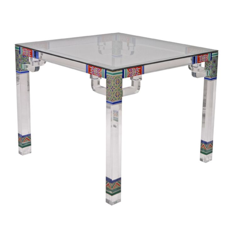 Buy Summer Palace Square Table - Game Tables - Tables - Furniture - Dering Hall. Please contact Avondale Design Studio for more information on any of the products we highlight on Pinterest. Lucite