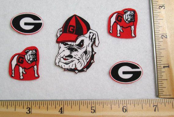 Georgia Bulldogs Patch Georgia Bulldogs Iron On by Applicrazy