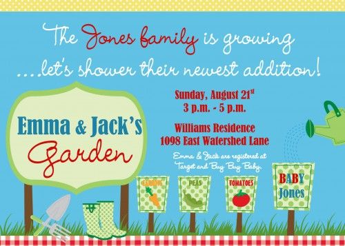 80 best Garden baby shower ideas images – Garden Party Baby Shower Invitations