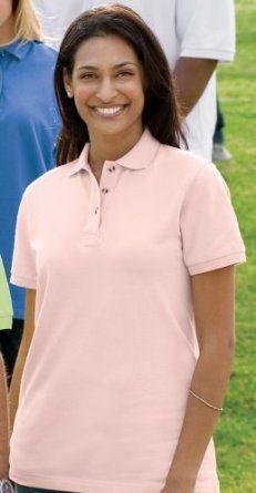 Ladies Pique Knit Polo Sport Shirt (comes in 20 colors!) Bigmansland. $17.99
