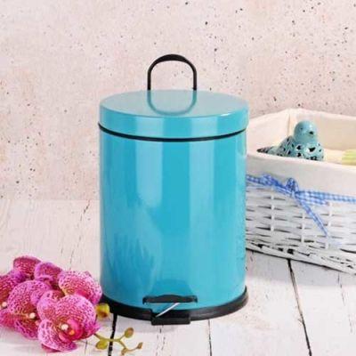 - 5 Lt Renkli Çöp Kovası - Mavi