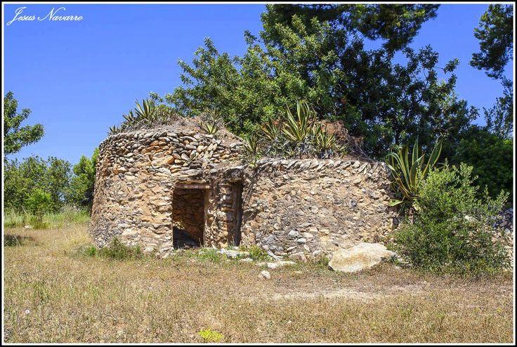 Barraca de pedra seca. Jesus Navarro