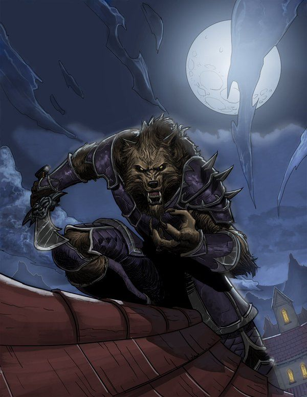 WoW Lycan race by strngbroda.deviantart.com on @DeviantArt