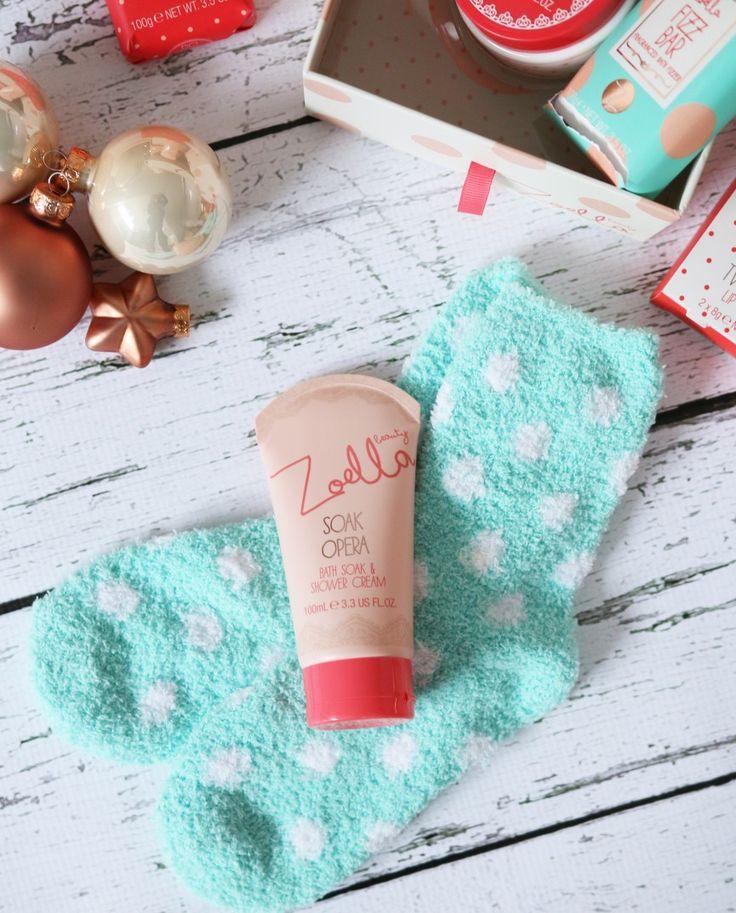 Zoella | Zoella Beauty Christmas Range: socks are so comfy already have them!!!