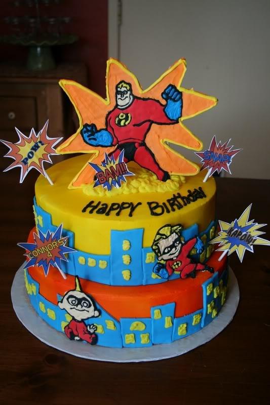 Edible Incredibles Cakes