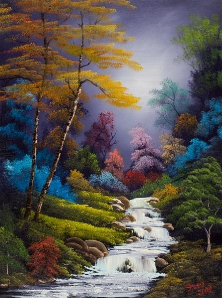 Original Bob Ross Paintings For Sale 1001 Ideas About Paintings