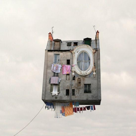Le case volanti di Laurent Chehere - Osservatori Esterni