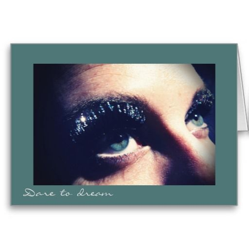 """Innocence & Beauty series by Rachel Jacobs, """"Dare to dream"""" card"""