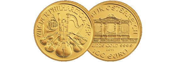 Wiener Philharmoniker Goldmünzen Ankauf
