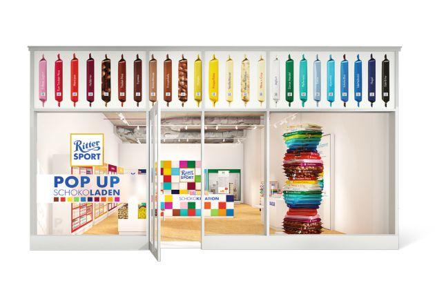 2014 - Der erste RITTER SPORT Pop-Up-Store öffnet für vier Monate in Hamburg
