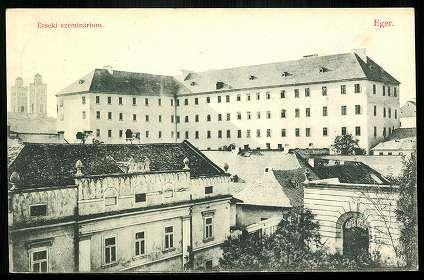 1914. Eger, Érseki szeminárium - mai Foglár utca   Képcsarnok   Hungaricana