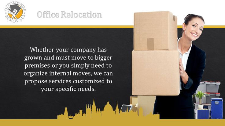 Office Relocation Oxford Oxfordshire