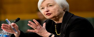 Fed Chair Yellen Sees Federal Funds Rate Rise Later This Year
