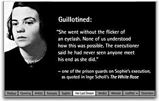 Anita Jo Intenzo-Haunted Author: SOPHIE SCHOLL AND THE WHITE ROSE