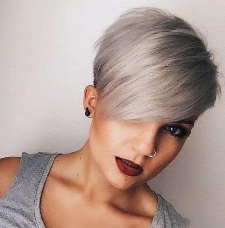 Kurze Frisuren Dunkles Haar (1
