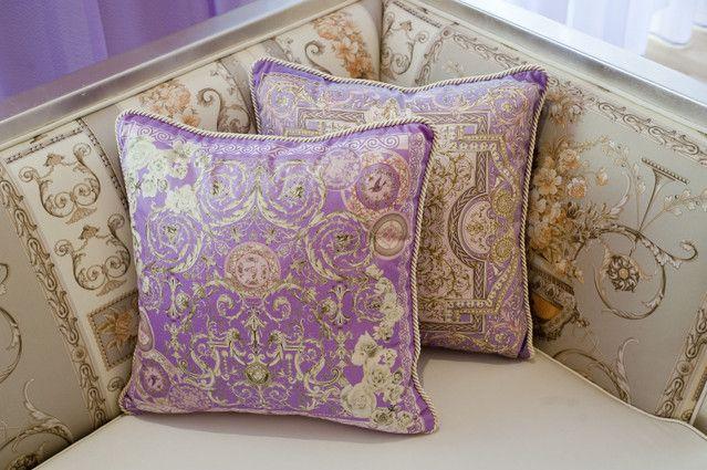Purple Pillows Versace Versace Home Pillow Cushions