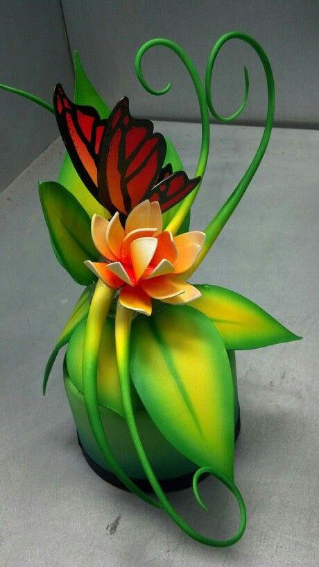 Pastillage sugar sculpture - Artist Rachel Strombom, The French Pastry School