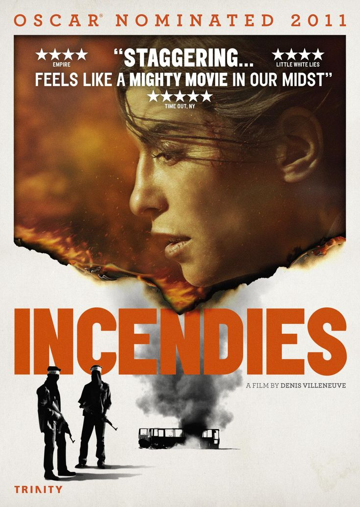 Incendies, one of my favourite movies that I have seen this year.