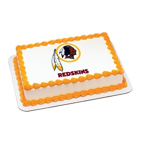 Washington Redskins Edible Cake Topper  | My Party Helpers | $9.49 Free Shipping