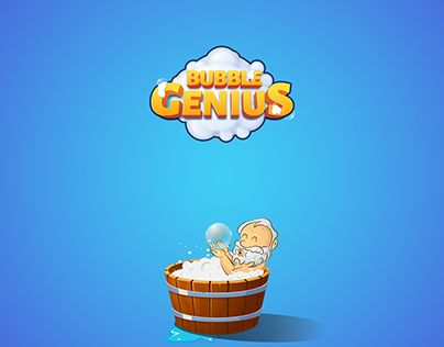 """Check out new work on my @Behance portfolio: """"Bubble Genius - Game Art"""" http://be.net/gallery/36514425/Bubble-Genius-Game-Art"""