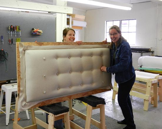 How Do I Make An Upholstered Headboard | And just about the easiest headboard project in the entire universe ...