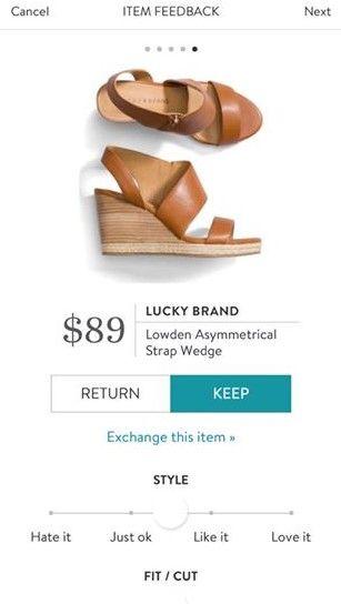LUCKY BRAND Lowden Asymmetrical Strap Wedge from Stitch Fix. https://www.stitchfix.com/referral/4292370