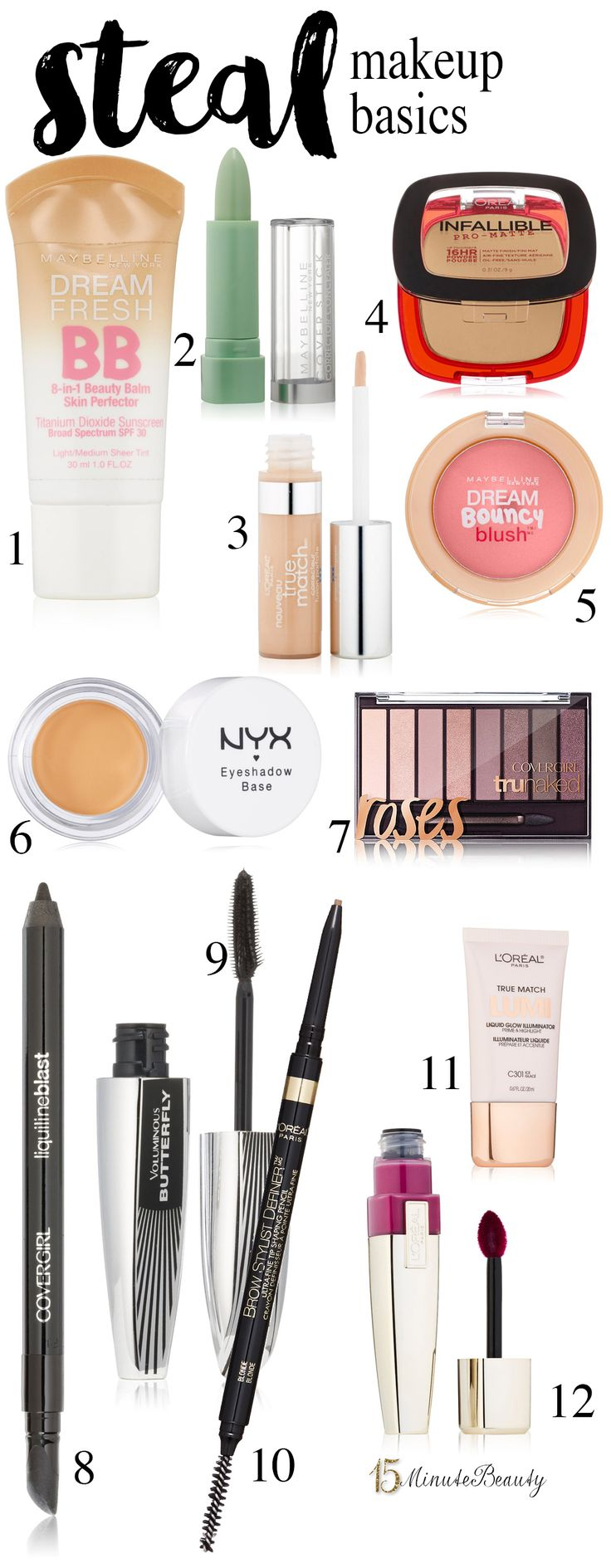 My Favorite Beauty Splurge vs Steal Products via @15 Minute Beauty