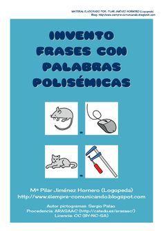 invento-frases-con-palabras-polismicas by pilar_jhornero via Slideshare