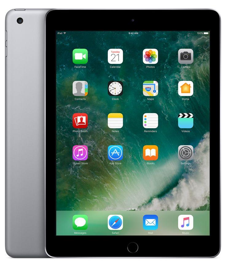 9,7-tums iPad finns i silver, guld eller rymdgrått, med Retina-skärm, två kameror och snabb uppkoppling. Handla online nu på Apples sajt