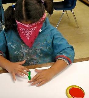 Lesson on creating art without sight... students lead one another on the art making process. Studying blind artists John Bramblitt & Esref Armagan  http://msnovak.blogspot.com/2011/03/3rd-grade-esref-armagan.html