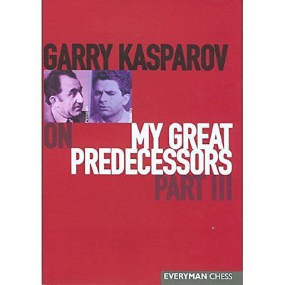 #Garry kasparov on my #great predecessors pt.3 everyman chess #hardb. 97818574437,  View more on the LINK: http://www.zeppy.io/product/gb/2/171931835981/
