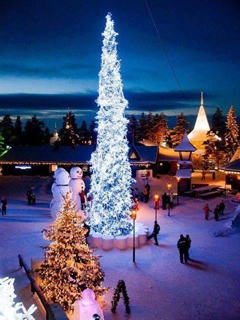 Santa's Village in Rovaniemi, Finland