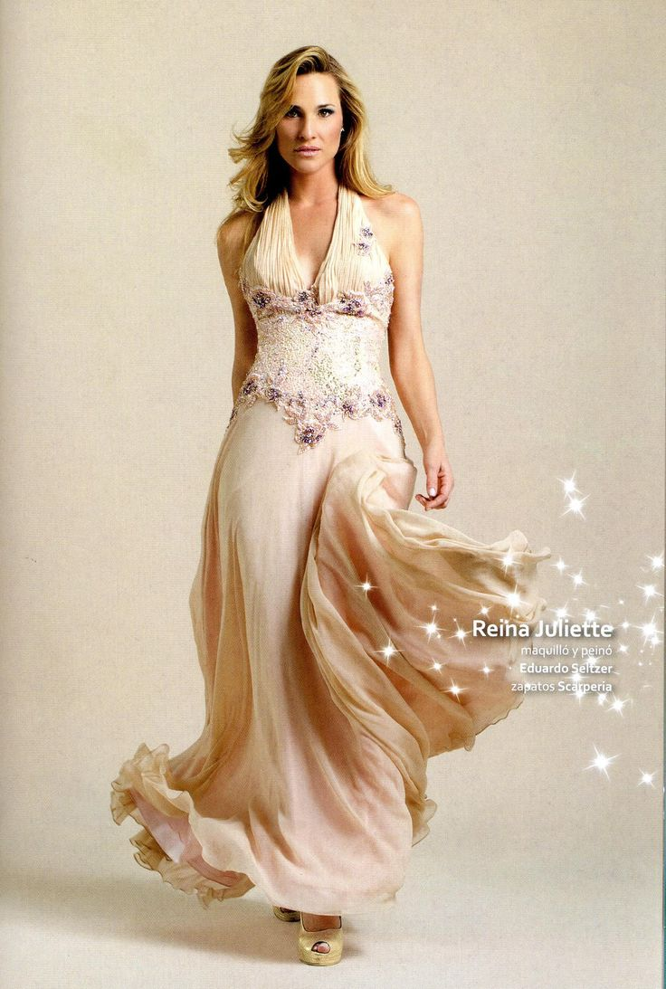 Cómodo y espectacular vestido para brillar!