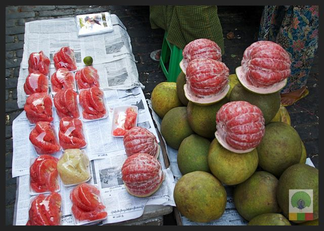Exotic Fruits in Myanmar. Grapefruit is very popular. This stall is in Bogyoke market. Myanmar (Burma) Travel Photobog. This board focuses on #Myanmar, its people, its culture and its sites. We use local recommendations to guide us through the country. Join us on our journey. Discover more about #Burma, find #Burmese restaurants In Your City and let us help you Plan Your Trip: www.myanmartravelessentials.com