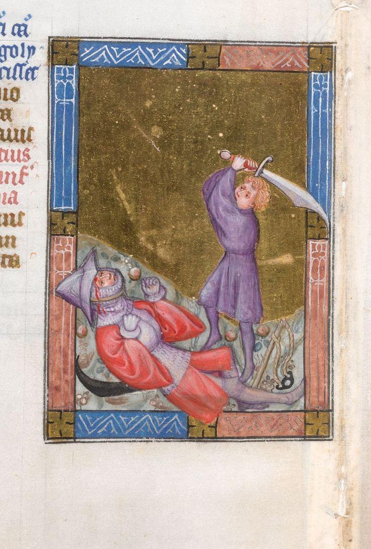 Biblia Pauperum, Netherlands, The hague?, ca 1405