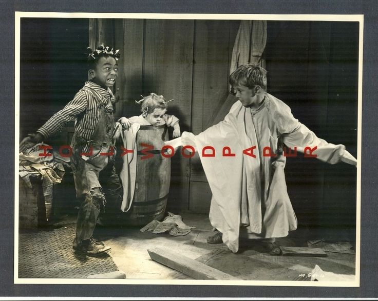 FARINA + JACKIE OUR GANG - EXC COND 1930 - LITTLE RASCALS - HAL ROACH COMEDY